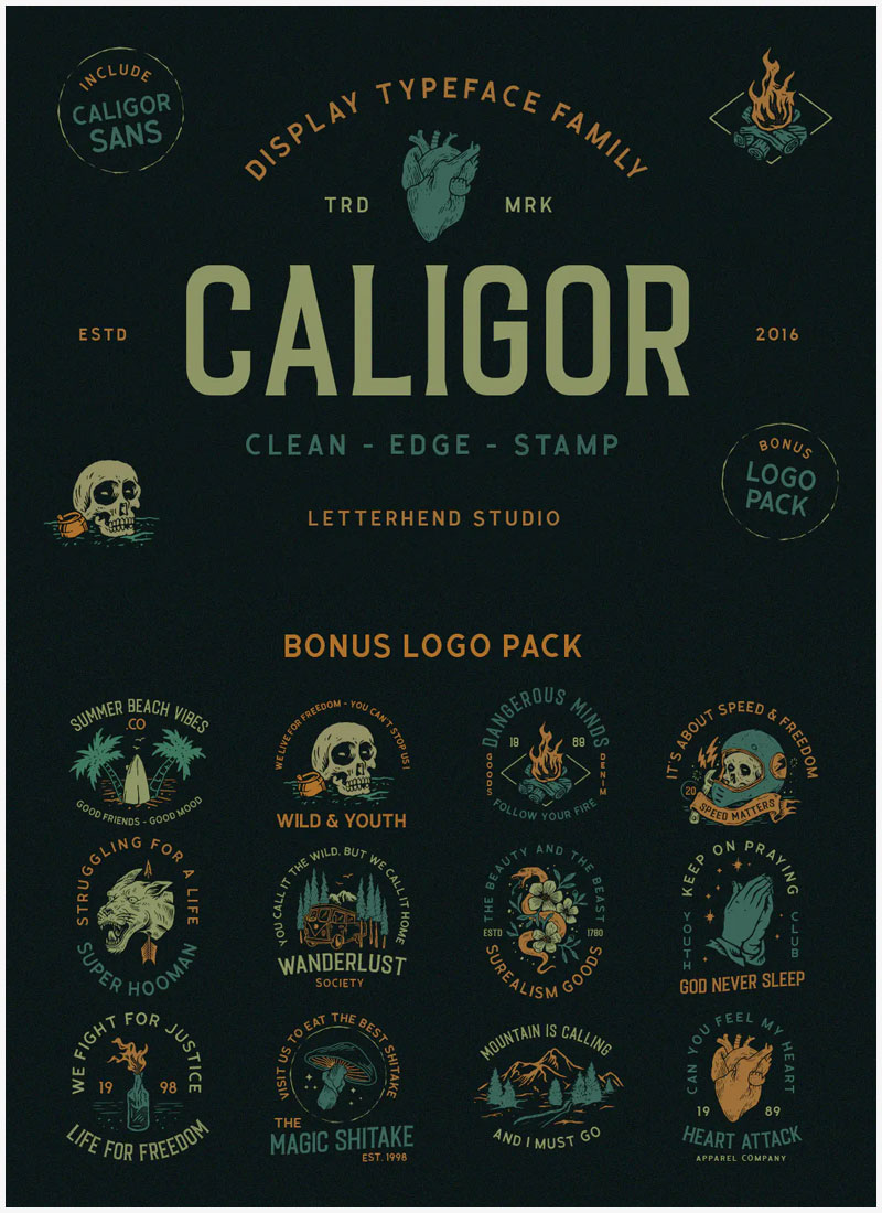 CALIGOR-Sans-Serif-Decorative-Font