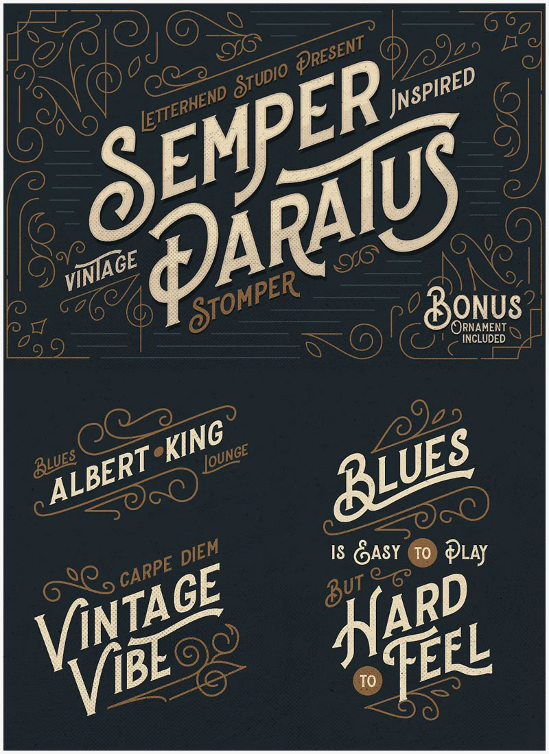 Stomper-Vintage-Display-Font