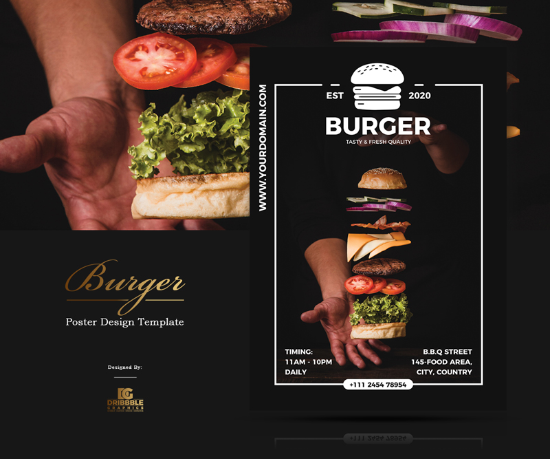 Free-Burger-Restaurant-Poster-Design-Template-of-2020