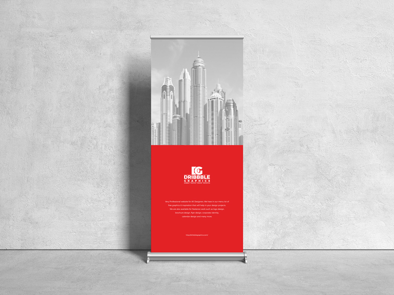 Free-Front-View-Roll-Up-Stand-Mockup