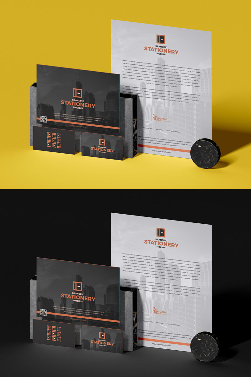 Free-PSD-Brand-Stationery-Mockup-For-Designers