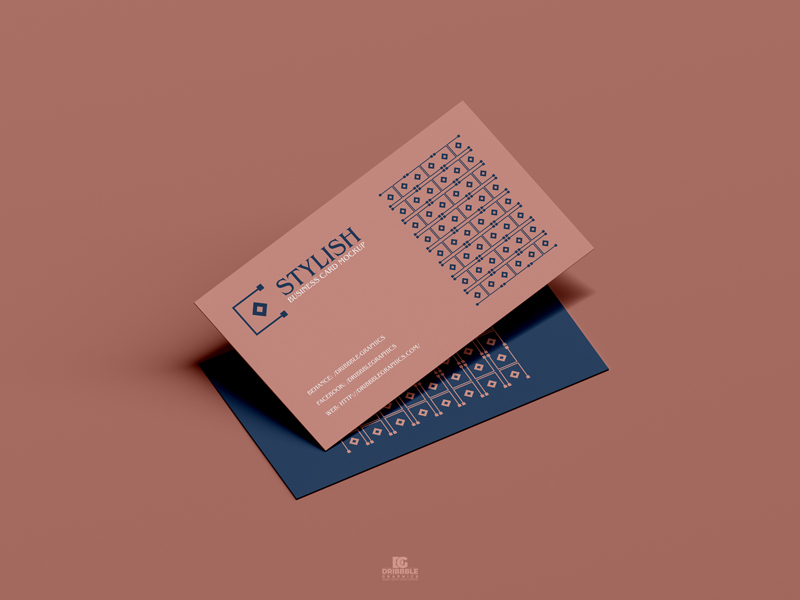 Free-Stylish-Business-Card-Mockup-PSD-600
