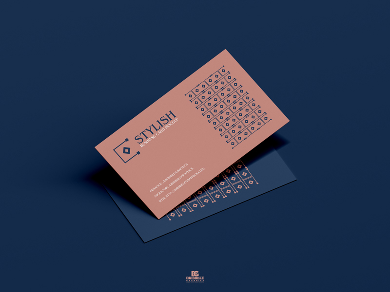 Free-Stylish-Business-Card-Mockup-PSD