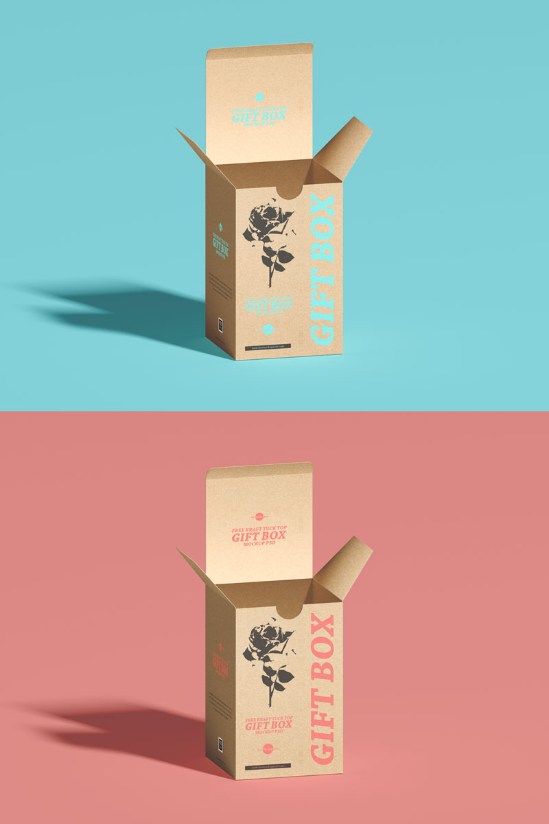 Free-Craft-Packaging-Gift-Box-Mockup-PSD