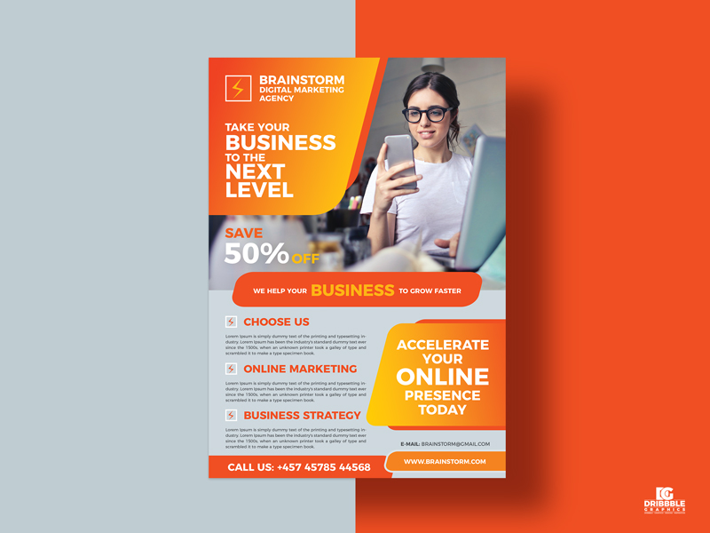 Free-Social-Media-Business-Digital-Marketing-Flyer-Design-Template