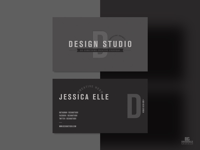 Free-Design-Studio-Business-Card-Design-Template