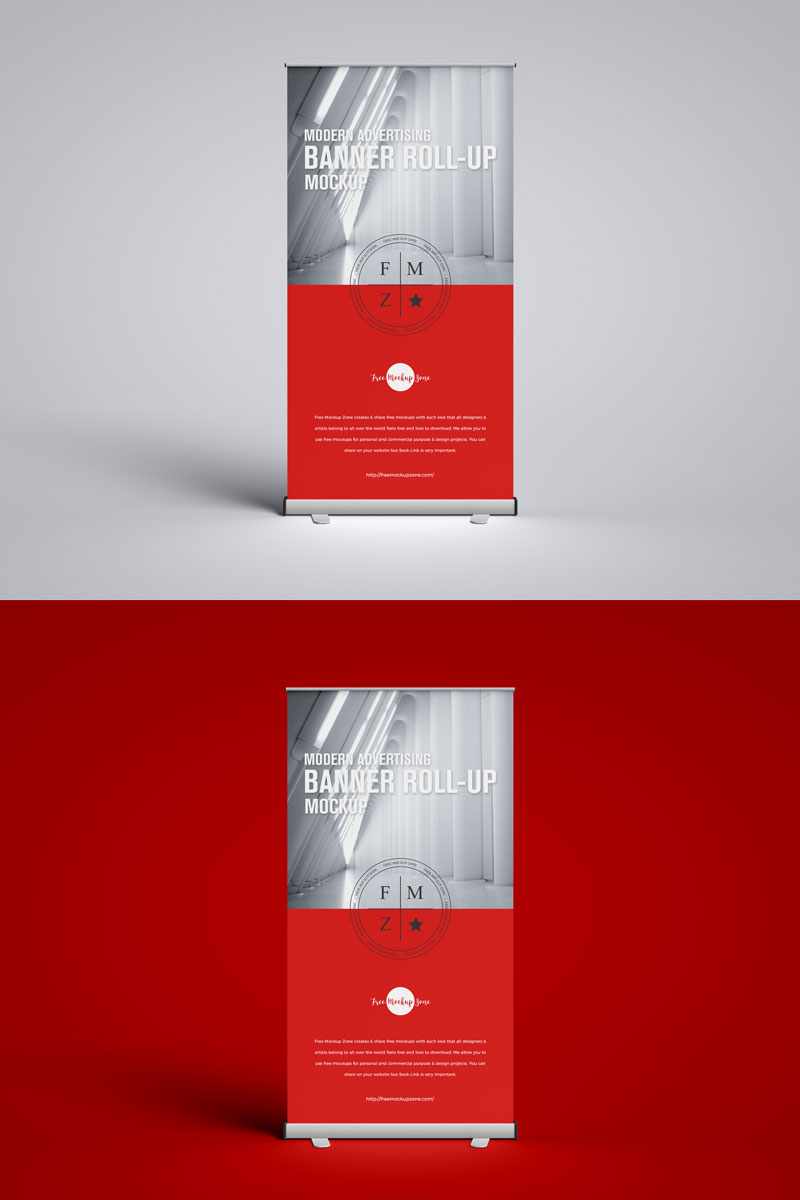 Free-Standee-Roll-Up-Banner-Mockup-PSD