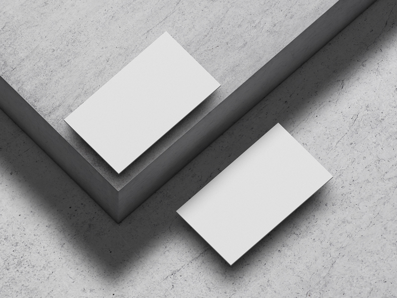 Free-Business-Cards-on-Concrete-Floor-Mockup-600