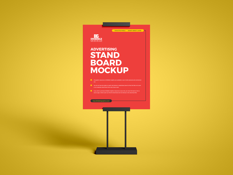 Free-Advertising-Stand-Board-Mockup