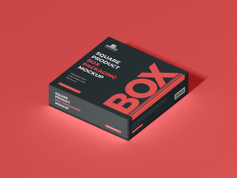 Free-Square-Product-Box-Packaging-Mockup