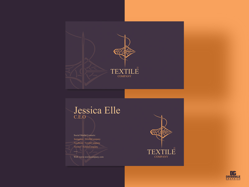 Free-Textile-Business-Card-Design-Template-of-2021