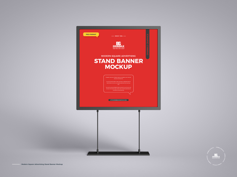 Free-Modern-Square-Advertising-Stand-Banner-Mockup