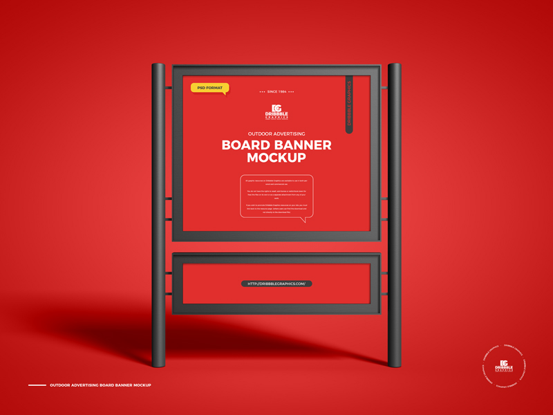 Free-Outdoor-Advertising-Board-Banner-Mockup-600