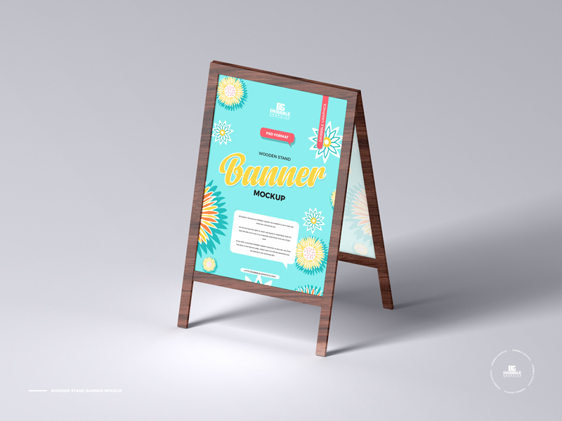 Free-Wooden-Stand-Banner-Mockup