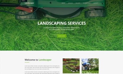 Landscaping-Free-Website-Template