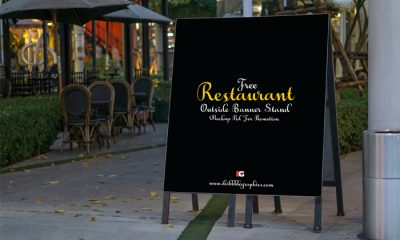 Restaurant-Outside-Banner-Stand-Mock-up-Psd-For-Promotion-600