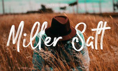 Free-Miller-Salt-Font
