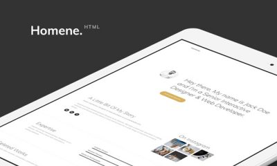 Homene-HTML-Web-Template