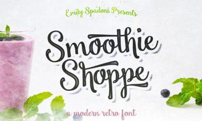 Free-Smoothie-Shoppe-Typeface