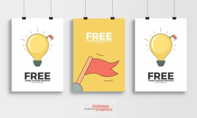 3-Poster-Mockup-PSD-Template