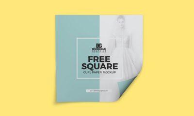 Free-Square-Curl-Paper-Mockup