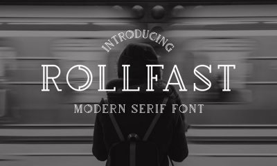 Free-Modern-Rollfast-Font