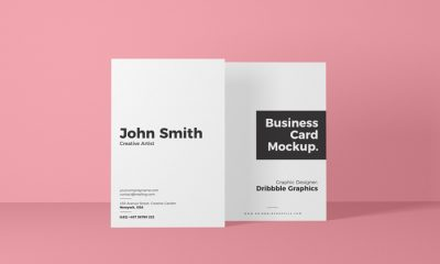 Free-Vertical-Front-View-Business-Card-Mockup-300