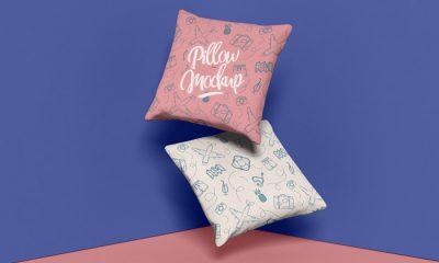 Free-Brand-Square-Pillow-Mockup-Design-PSD-2019-300