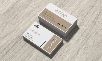 Free-Brand-Business-Card-Mockup-on-Wood-300