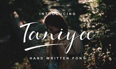 Free-Taniya-Handwritten-Font-Demo