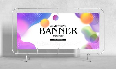 Free-Advertising-Banner-Mockup-For-Branding-300