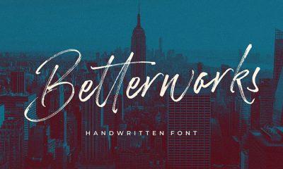 Free-Betterwork-Handwritten-Script-Demo