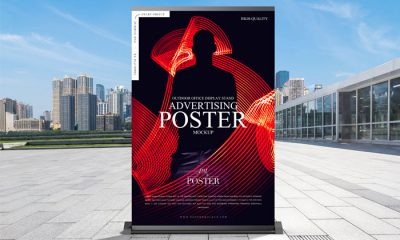 Free-Outdoor-Business-Advertisement-Poster-Mockup-300