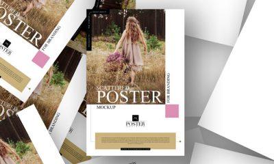 Free-Scattered-Poster-Mockup-300