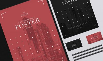 Free-Top-View-Poster-Stationery-Mockup-PSD-300