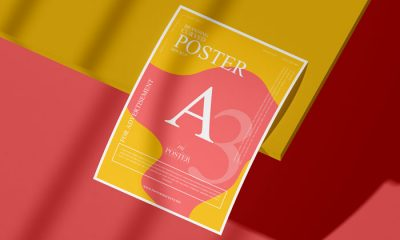 Free-A3-Curved-Paper-Poster-Mockup-PSD-300