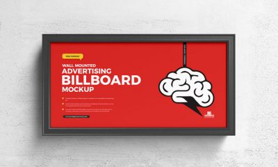 Free-Wall-Mounted-Advertising-Billboard-Mockup-300