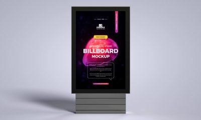 Free-Advertising-Stand-Billboard-Mockup-300